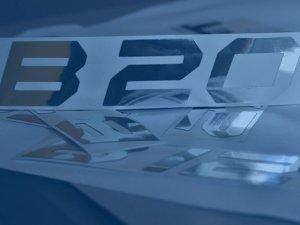 Logo wycinane z aluminium